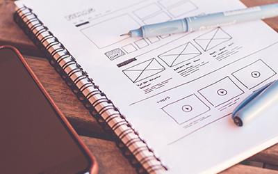 サイト制作に必要な資料を提出頂きついに制作スタート!